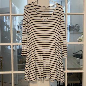 Amour Vert striped dress